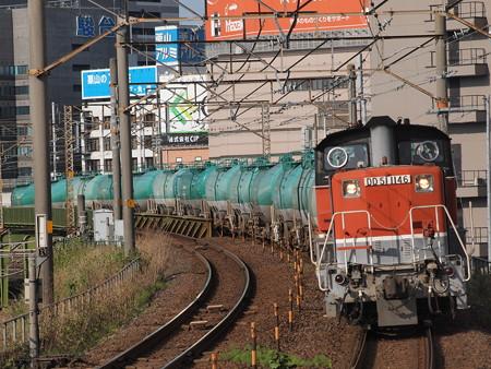 DD51貨物 あおなみ線ささしまライブ駅02