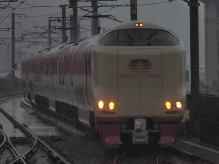 285系寝台特急サンライズ瀬戸 予讃線坂出駅