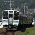 写真: 211系普通 中央本線下諏訪~岡谷01
