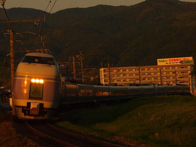 写真: E351系特急スーパーあずさ 中央本線下諏訪~岡谷04