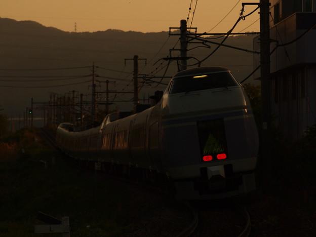 写真: E351系特急スーパーあずさ 中央本線下諏訪~岡谷08