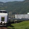 E351系特急スーパーあずさ 中央本線下諏訪~岡谷01