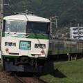 写真: 185系特急はまかいじ 中央本線下諏訪~岡谷01