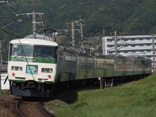 185系特急はまかいじ 中央本線下諏訪~岡谷03