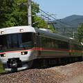 写真: 383系特急ワイドビューしなの 篠ノ井線明科~西条02