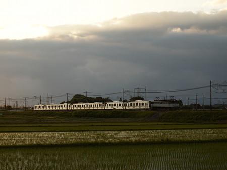 EF65メトロ13000系甲種 東海道本線米原~醒ヶ井02