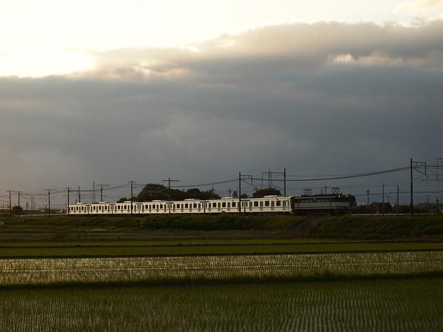 写真: EF65メトロ13000系甲種 東海道本線米原~醒ヶ井02