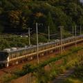 写真: 225系新快速 東海道本線彦根~米原