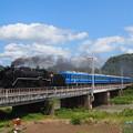 写真: D51試運転 北陸本線河毛~高月02