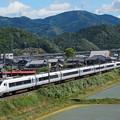 写真: 681系特急しらさぎ 北陸本線米原~坂田03