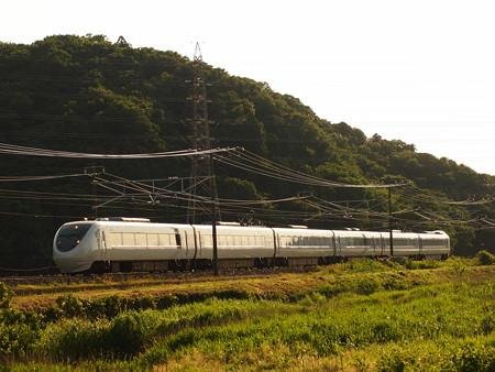 681系特急しらさぎ 東海道本線近江長岡~柏原01