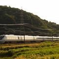 写真: 681系特急しらさぎ 東海道本線近江長岡~柏原01