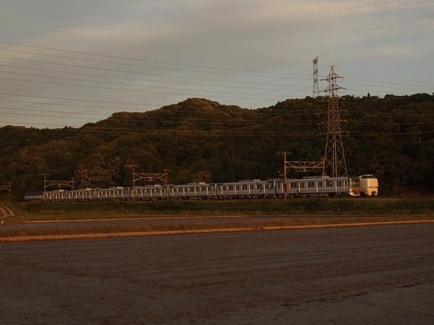 EF65メトロ13000系甲種 東海道本線近江長岡~柏原06