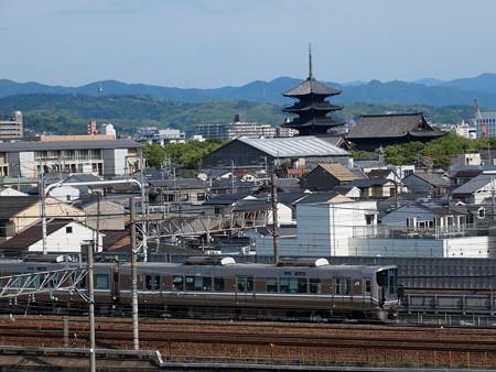 225系新快速 東海道本線京都~西大路