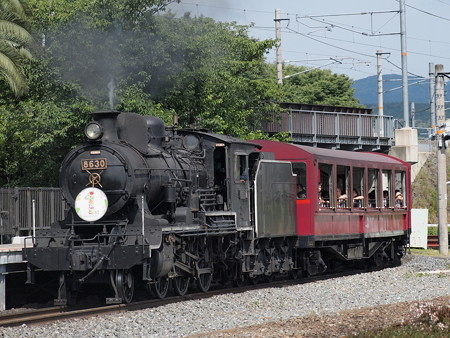 8630形SLスチーム号 京都鉄道博物館04
