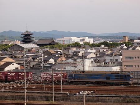 EF510貨物 東海道本線京都~西大路01