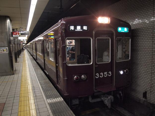 阪急3300系準急 地下鉄堺筋線動物園前駅02