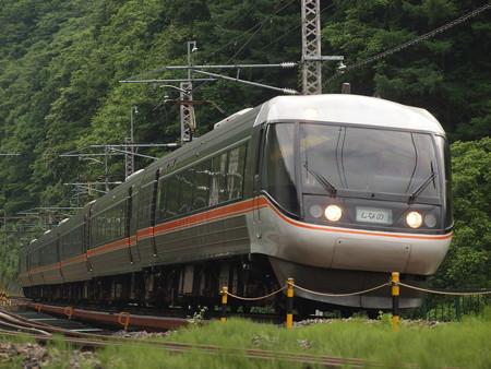 383系特急しなの 中央本線宮ノ越~藪原02