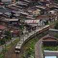 写真: 383系特急しなの 中央本線奈良井~藪原03