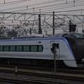 写真: E353系 篠ノ井線松本駅01