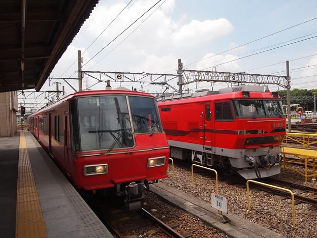写真: EL120 名市交3000系甲種 名鉄常滑線大江駅06