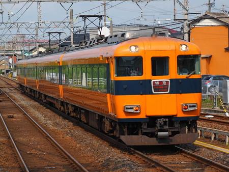 近鉄12400系特急 近鉄名古屋線弥富駅