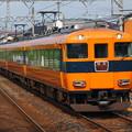 写真: 近鉄12400系特急 近鉄名古屋線弥富駅