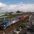 EF210貨物 東海道本線向日町~桂川