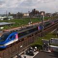 写真: HOT7000系特急スーパーはくと 東海道本線向日町~桂川