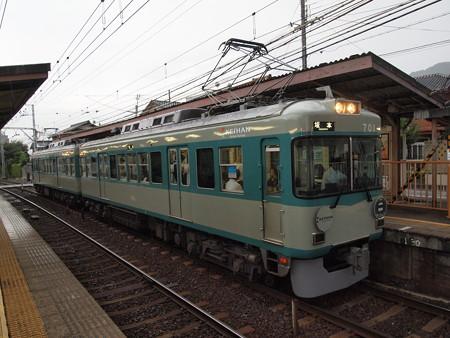 京阪700形  京阪石山坂本線近江神宮駅02