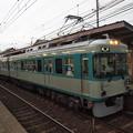 写真: 京阪700形  京阪石山坂本線近江神宮駅02