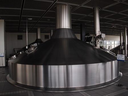 ビール発酵サイロ