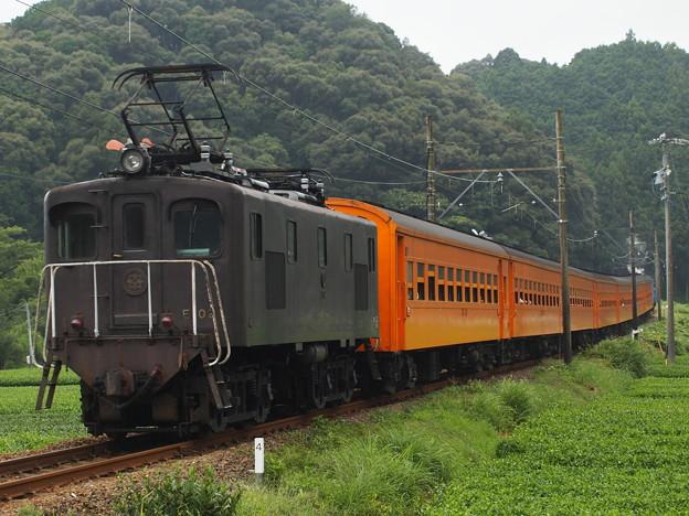 大井川鐡道ED500形抜里~川根温泉笹間渡2