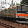 写真: 205系むさしの 中央本線豊田~八王子01