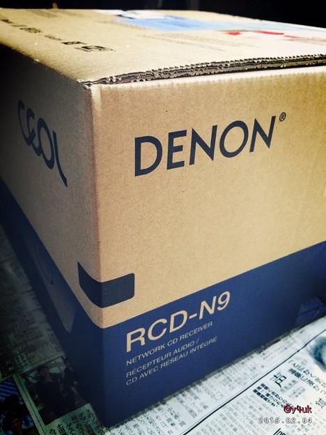 2.4 DENON到着~新しいステレオを注文したよ~