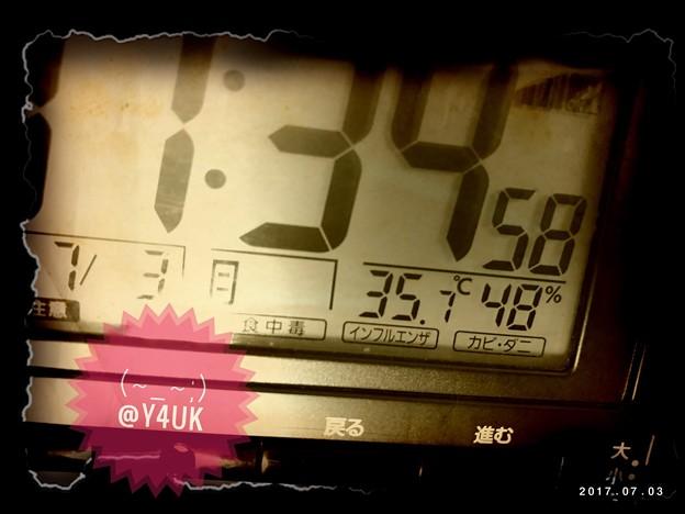 35.7℃ ~深夜までも1日中続く早くも今年一番の暑さに