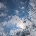 写真: 梅雨明けも蒸し暑い空 ~どんだけー!