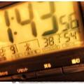 Photos: 11:44既に38.1℃ 54% ~今夏最高気温~カメラもブレる危険な酷暑~深夜も31℃