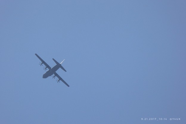 Photos: 10:14 Airplane ~飛んでる飛行機のお尻~30倍ズームの威力