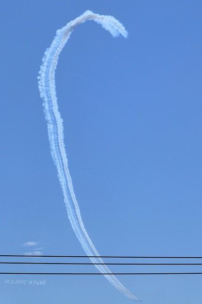 Photos: 13:37 ブルーインパルス曲芸飛行~Blue Sky, Blue Impulse