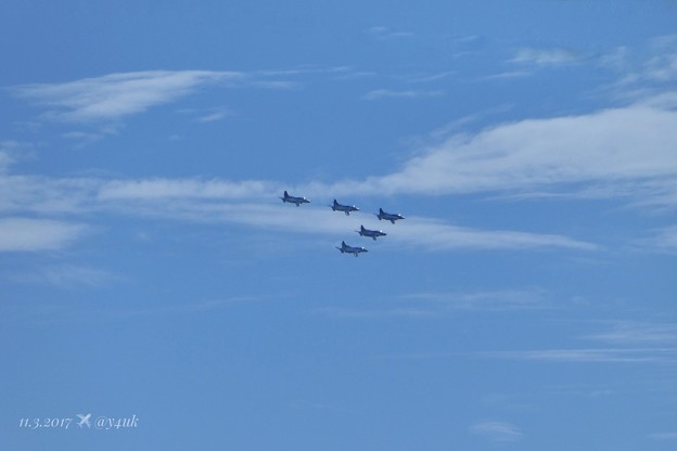 Photos: 13:37 ブルーインパルス編隊飛行~Blue Impulse