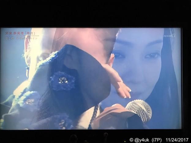 Photos: 紅白で復帰~間奏に客席から~温かい空気の拍手と歓声~温かさに歌えない(´;ω;`)素晴らしいもらい泣き~good Live NHK~現在と過去の安室ちゃん多重