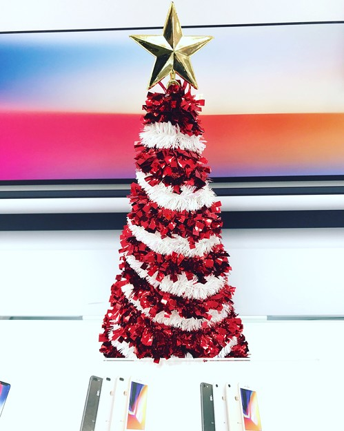 Xmas Tree to Displays iPhoneX/8