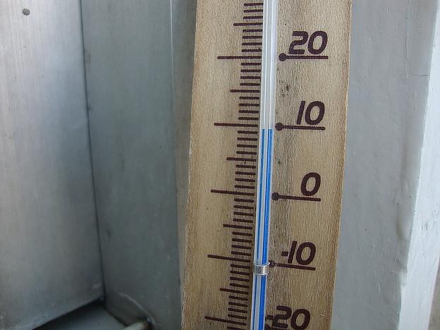 気温10度