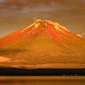 写真: これぞ赤富士の極み