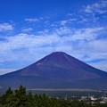 写真: 秋晴れ富士