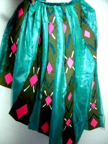手作りのアナ衣装1