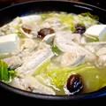 写真: 鶏の水炊き