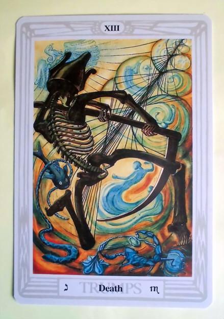 TAROT CARD_XIII Death