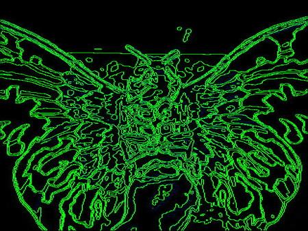 地底探検_怪獣-green